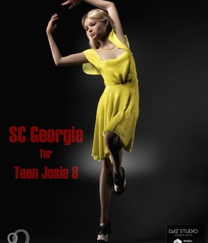 SC Georgie for Teen Josie 8 3D Figure Assets secondcircle