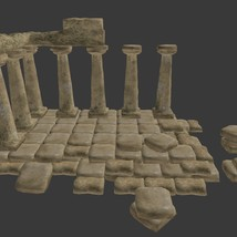 Ancient Ruins - Extended License image 1
