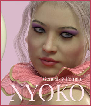 MYKT Nyoko for Genesis 8 Female 3D Figure Assets MoyKot
