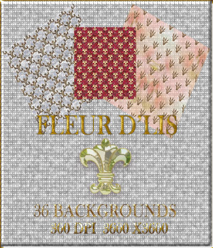 Fleur d Lis 36 Background Texture Papers 2D Graphics Merchant Resources CreativeSoulArts