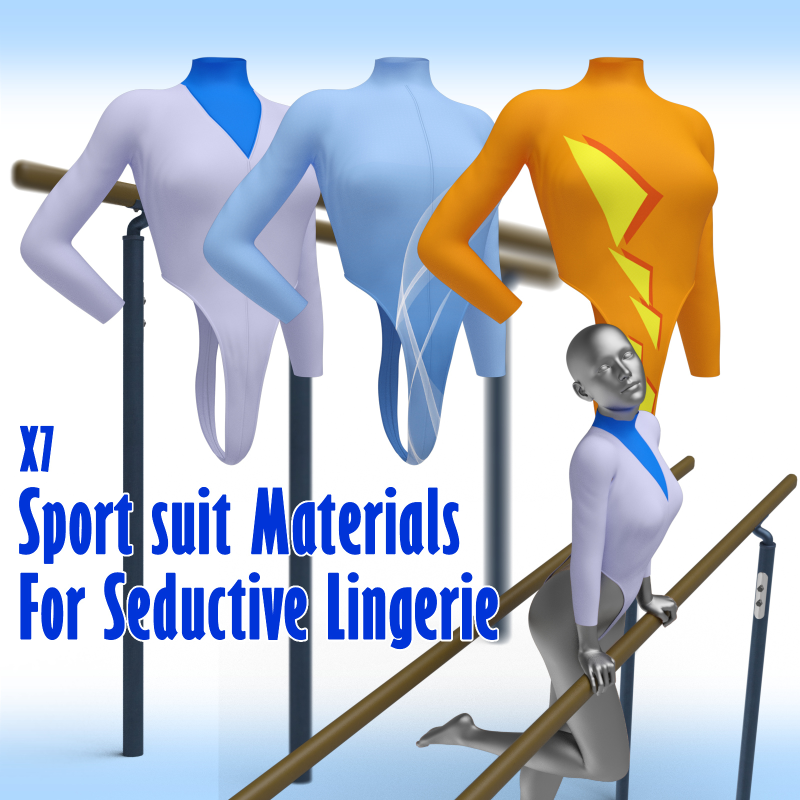 x7 Sport suit Materials For Seductive Lingerie