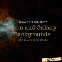 Moon and Galaxy Backgrounds image 5