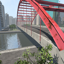 Polygon City, Low Poly for Poser image 1