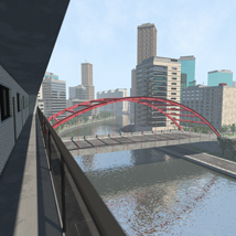 Polygon City, Low Poly for Poser image 2