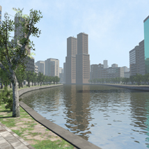 Polygon City, Low Poly for Poser image 3