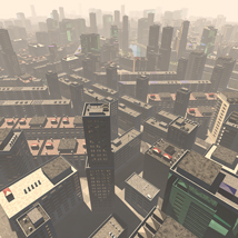 Polygon City, Low Poly for Poser image 4