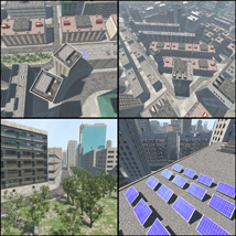 Polygon City, Low Poly for Poser image 9