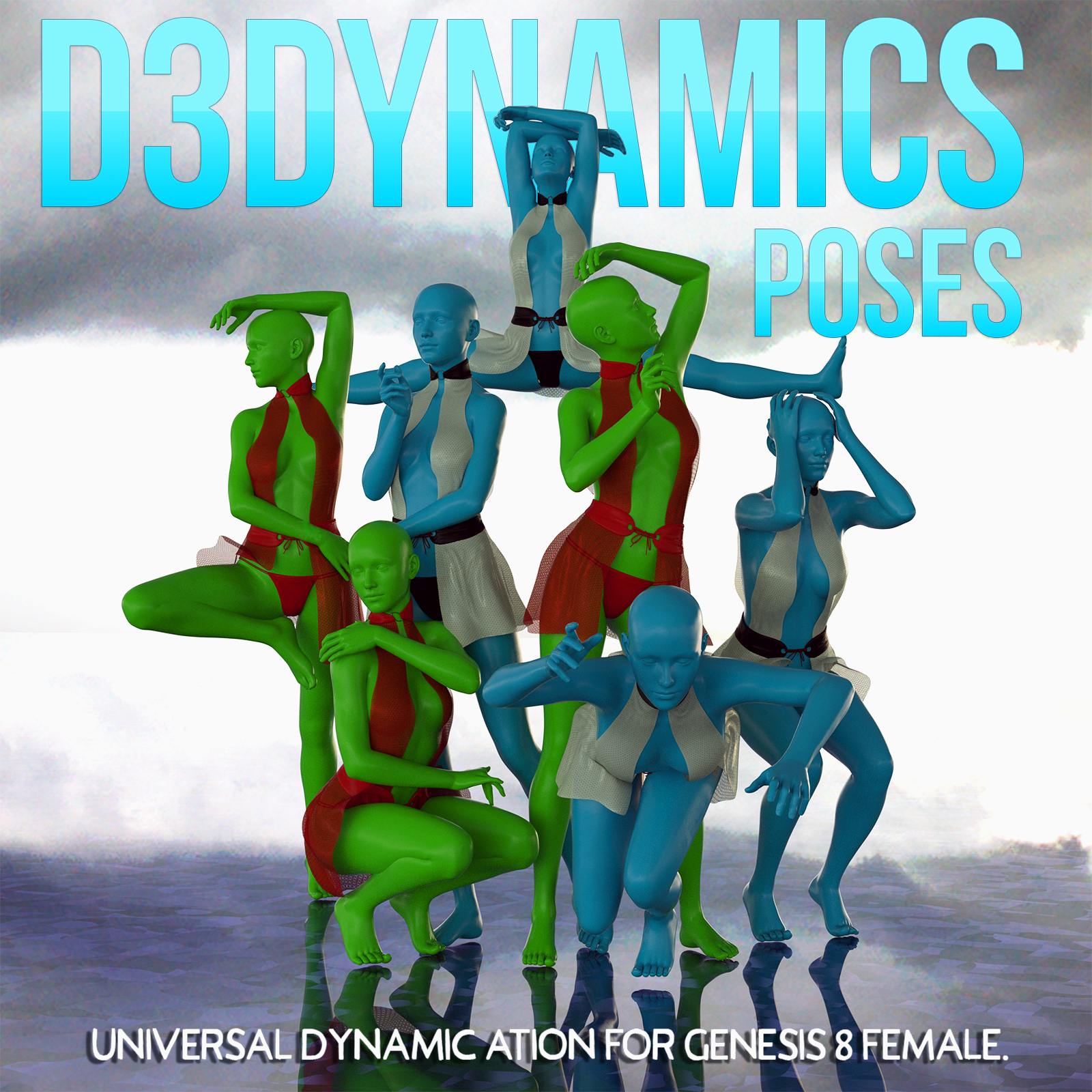 D3Dynamics Poses Volume 1 by Disciple3d