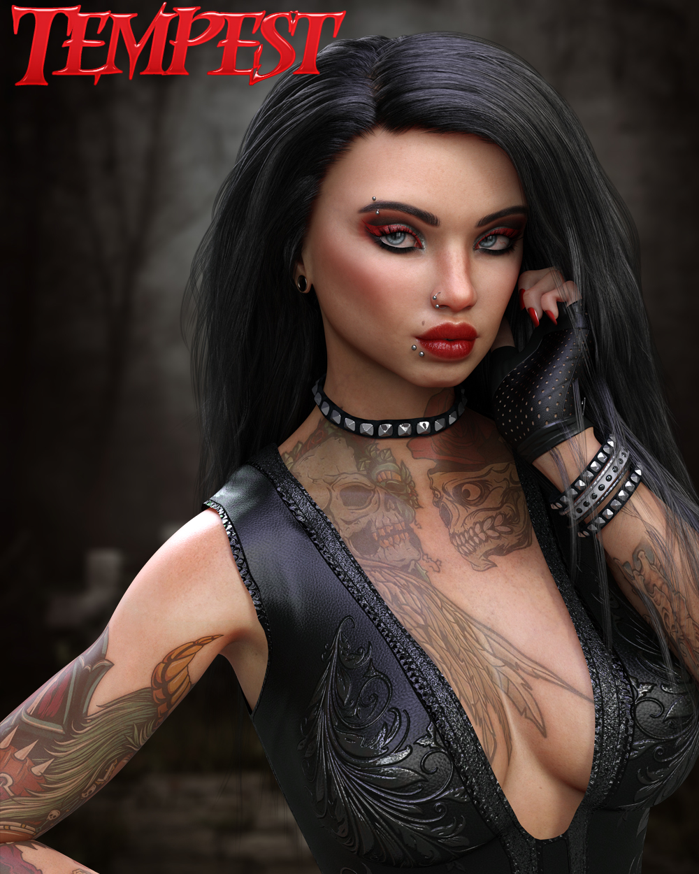 Twizted Girls Tempest for Genesis 8 Female