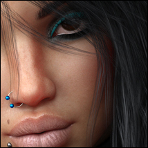 Twizted Girls Tempest for Genesis 8 Female image 3