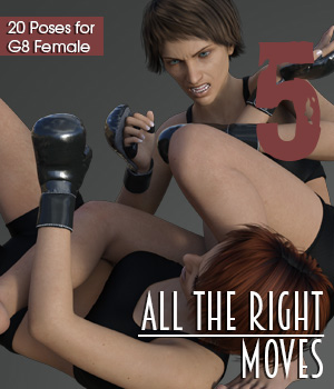 ALL THE RIGHT MOVES vol.5 3D Figure Assets PainMD