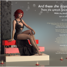 There she stays - Poses and Props for Genesis 8 Female image 1