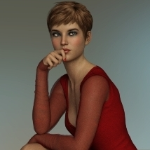 There she stays - Poses and Props for Genesis 8 Female image 2
