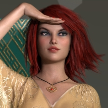 There she stays - Poses and Props for Genesis 8 Female image 4