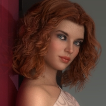 There she stays - Poses and Props for Genesis 8 Female image 5