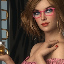 There she stays - Poses and Props for Genesis 8 Female image 7