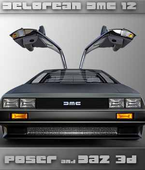Delorean DMC-12 3D Models lwanmtr