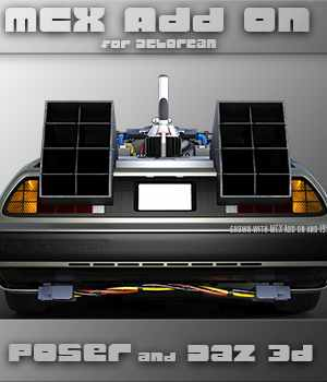 MCX Charger Add on for Delorean DMC-12 3D Models lwanmtr