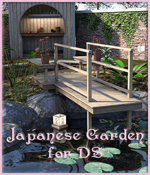 Japanese Garden for DS 3D Models DreamlandModels
