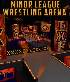 Minor League Wrestling Arena 3D Models DexPac