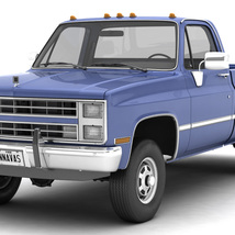GENERIC 4WD PICKUP TRUCK 4 - EXTENDED LICENCE image 1