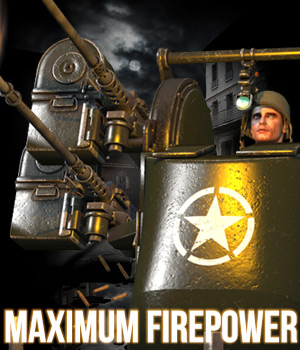 Maximum Firepower for Ma Deuce 3D Models Cybertenko