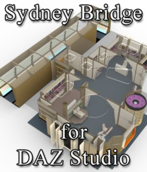 Sydney Bridge for DAZ Studio 3D Models VanishingPoint
