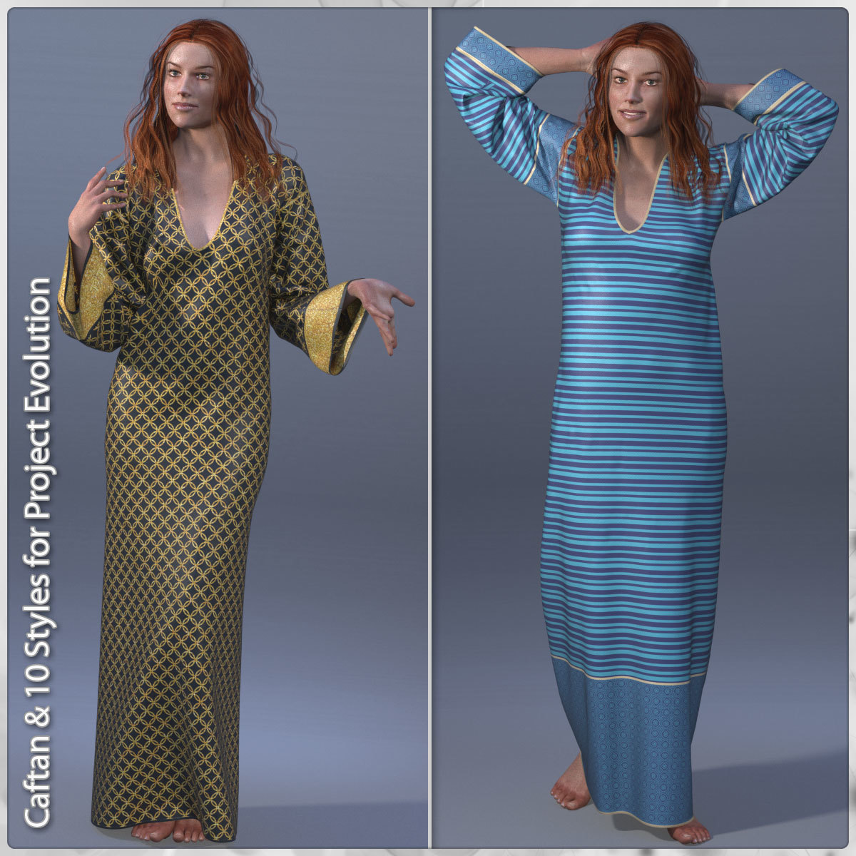 Caftan and 10 Styles for PE