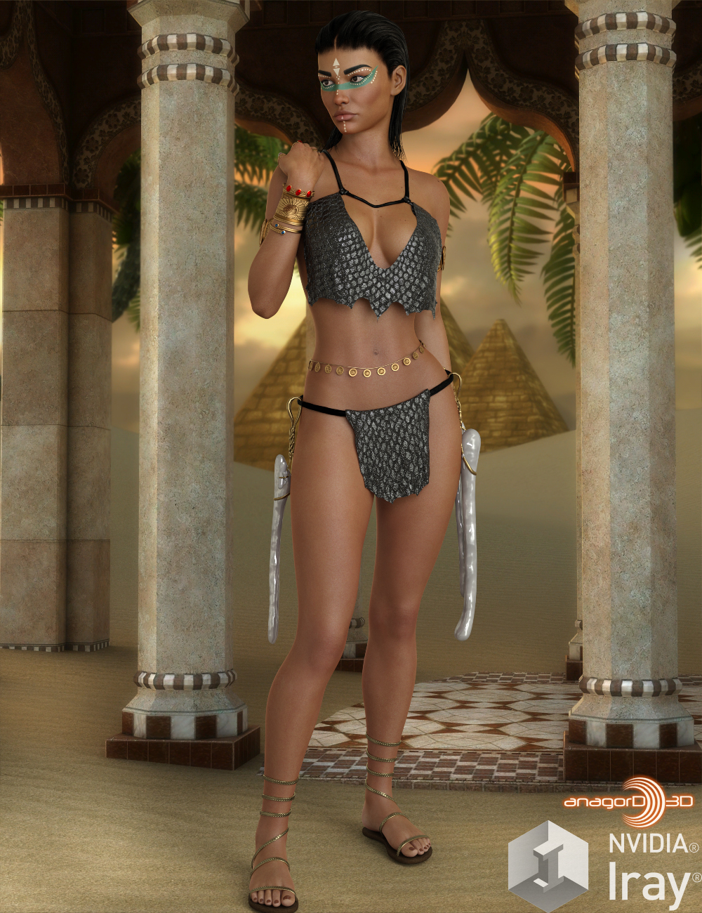 HEROINE - Gladeling Female Outfit for G8F