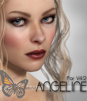 MDD Angeline For V4.2 + Bonus IRAY Materials 3D Figure Assets Maddelirium