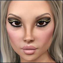 Twizted 100 Faces Volume 2 for Genesis 8 Female image 5
