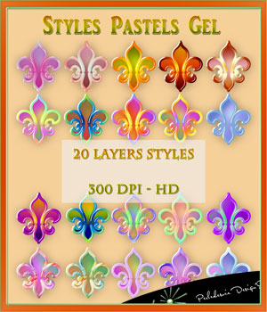 Styles Pastels Gel 2D Graphics Merchant Resources Perledesoie