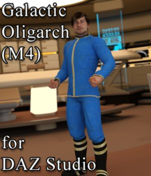Galactic Oligarch M4 for DAZ Studio 3D Figure Assets VanishingPoint