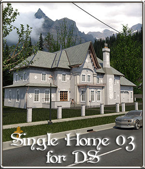 Single Home 03 for DS 3D Models DreamlandModels