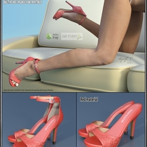 Lysithea Shoes - for Genesis 8 and Victoria 8 image 2