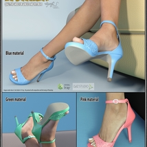 Lysithea Shoes - for Genesis 8 and Victoria 8 image 3
