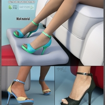 Lysithea Shoes - for Genesis 8 and Victoria 8 image 5