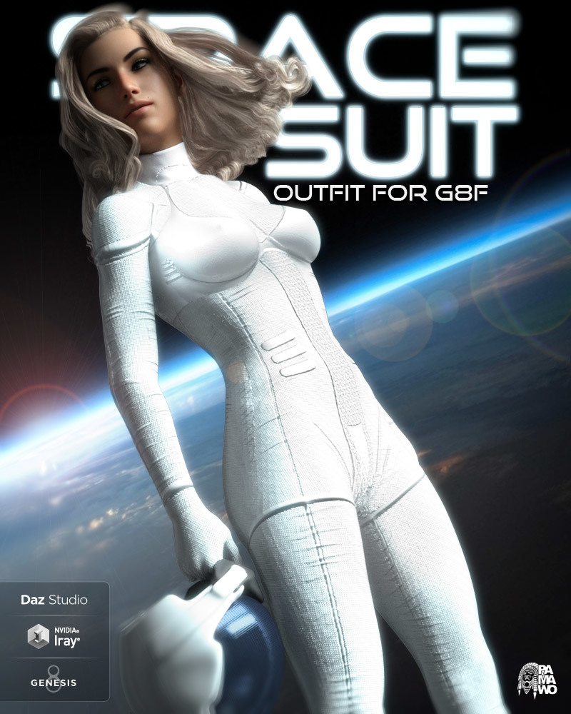 Space Suit For G8F by pamawo