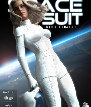 Space Suit For G8F 3D Figure Assets pamawo
