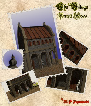 The Village - Temple Acess 3D Models mgdegenhardt