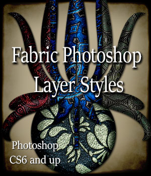 Fabric Styles 2D Graphics antje