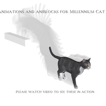 Animations for Millennium Cat - Poser and Daz Studio image 2