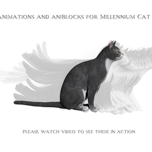 Animations for Millennium Cat - Poser and Daz Studio image 3