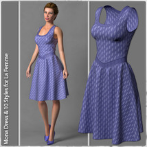 Mona Dress and 10 Styles for La Femme image 1