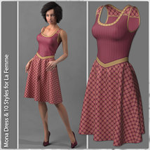 Mona Dress and 10 Styles for La Femme image 4