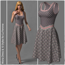 Mona Dress and 10 Styles for La Femme image 5