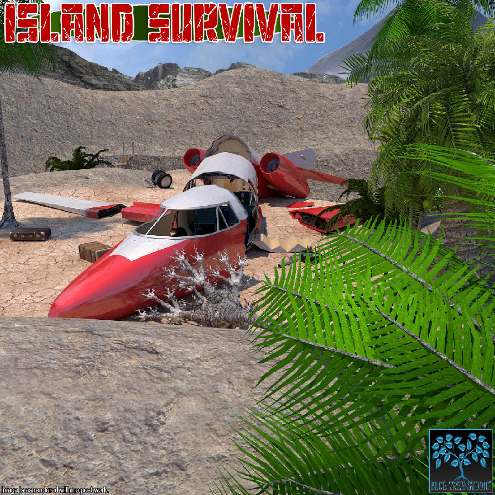 Island Survival for Poser