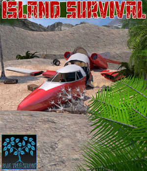 Island Survival for Poser 3D Models BlueTreeStudio