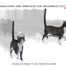 Animations and aniBlocks for Millennium Cat 2 image 1