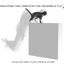 Animations and aniBlocks for Millennium Cat 2 image 2
